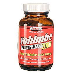Action Labs Yohimbe Power Max 2000