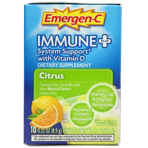 Emergen-c immune plus review