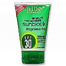 Alba Botanica Mineral Sunscreen SPF 30