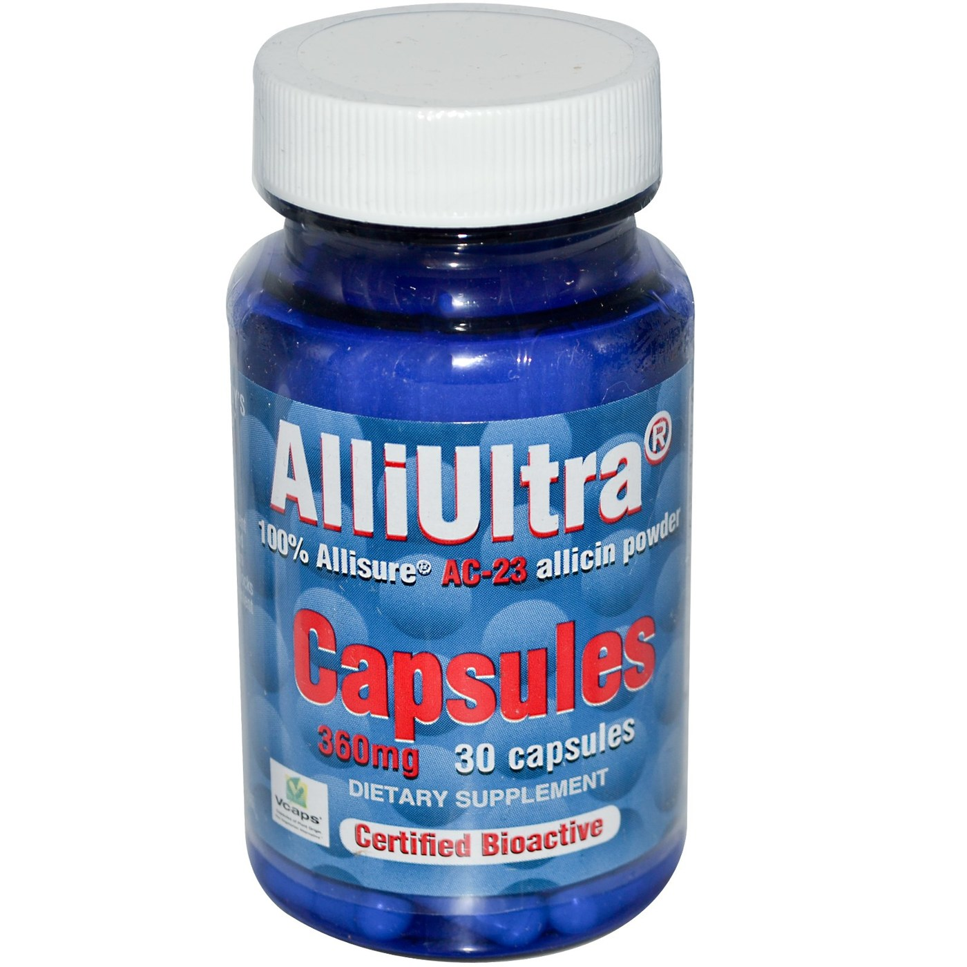 Allimax Alliultra 360 Mg 30 Caps