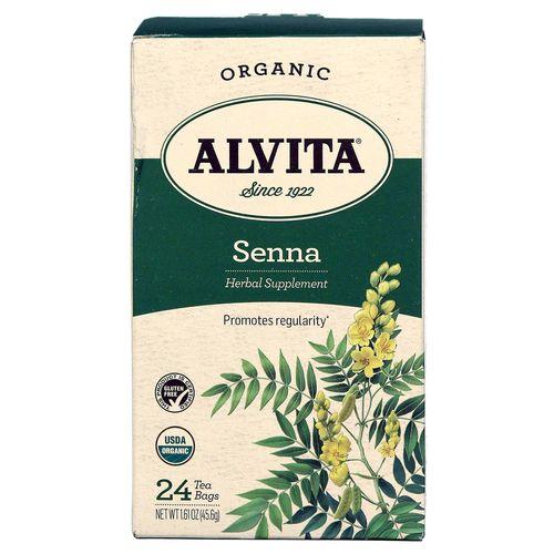 Alvita Senna Leaf Tea 24 Bags Evitamins Com