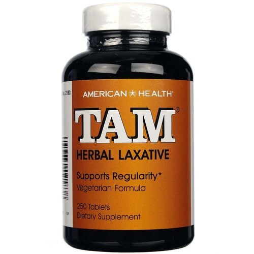 American Health Tam Herbal Laxative 250 Tablets