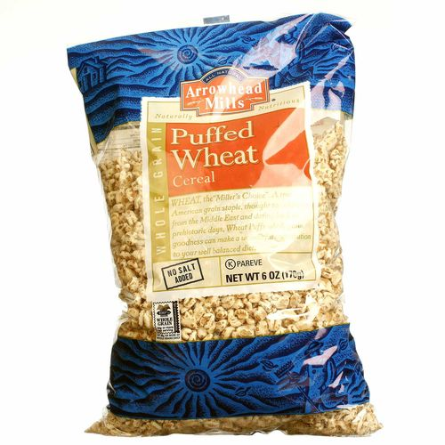 How is puffed wheat cereal made