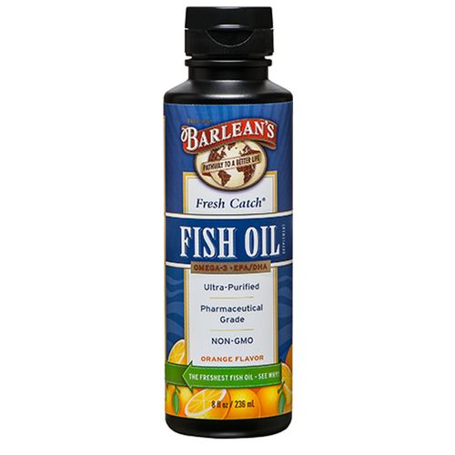 Barlean 39 s fresh catch fish oil orange 8 fl oz for Barleans fish oil reviews