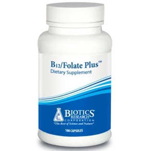 Biotics Research Corp. B12/Folate Plus - 100 Capsules