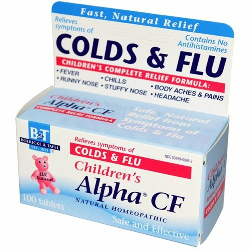 Boericke and tafel children 39 s alpha cf 100 tablets - Subject alpha cf ...