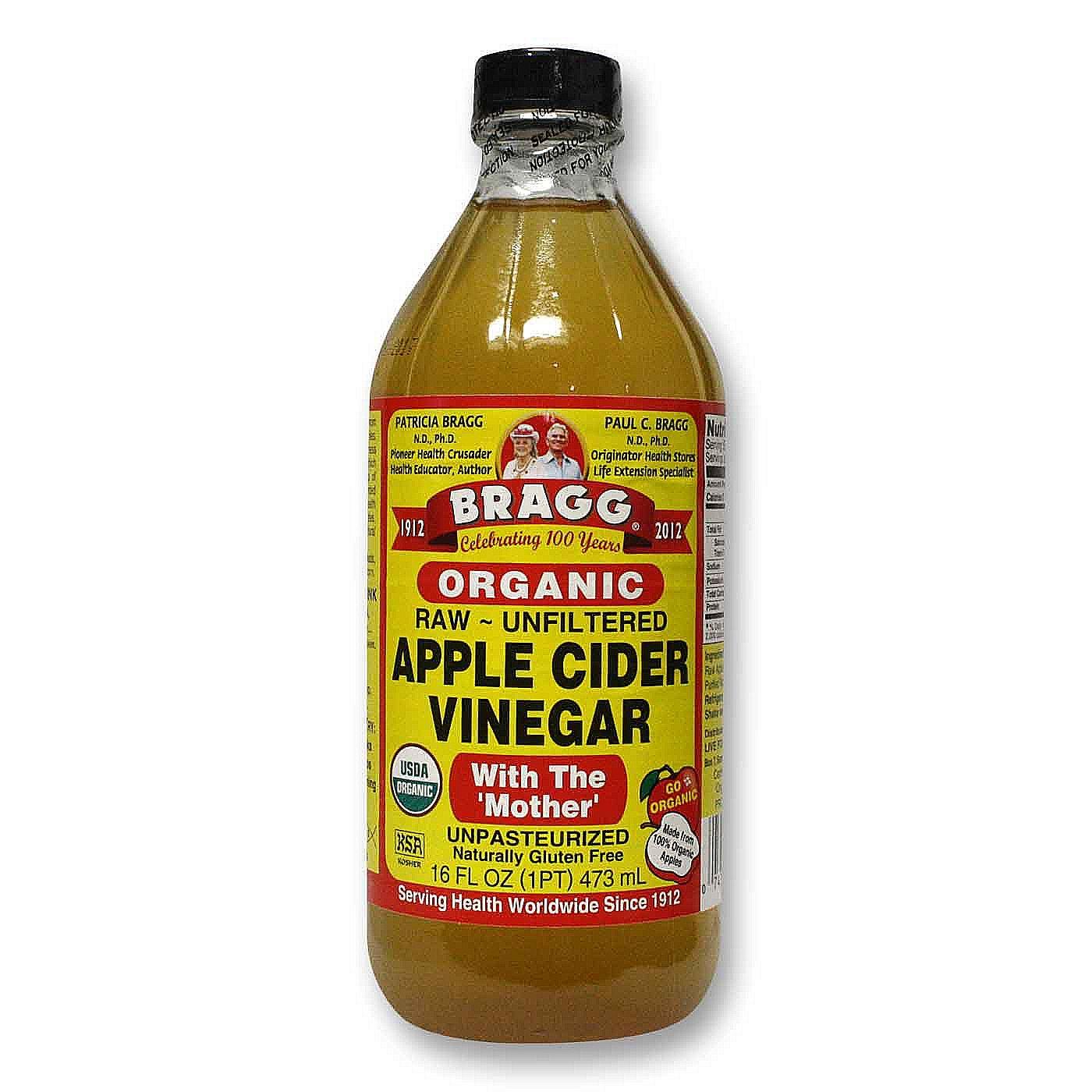 Bragg Apple Cider Vinegar Organic 16 Fl Oz Evitamins Com