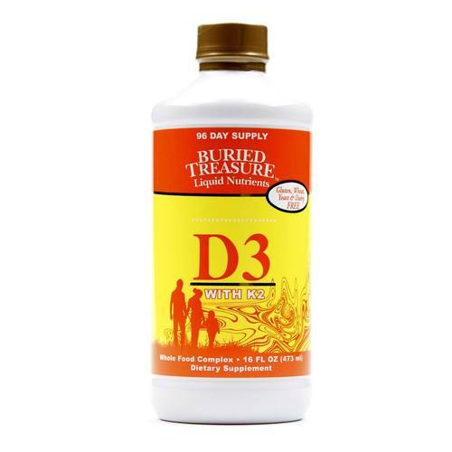 Liquid D3 with K2