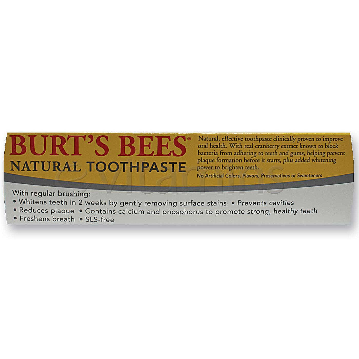 Burt S Bees Natural Toothpaste