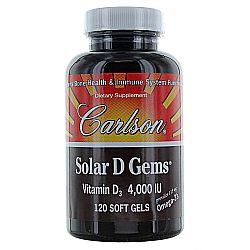 Solar D Gems Vitamin D3 4000 IU