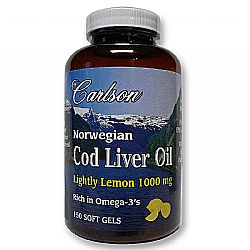 Cod Liver Oil Lightly Lemon