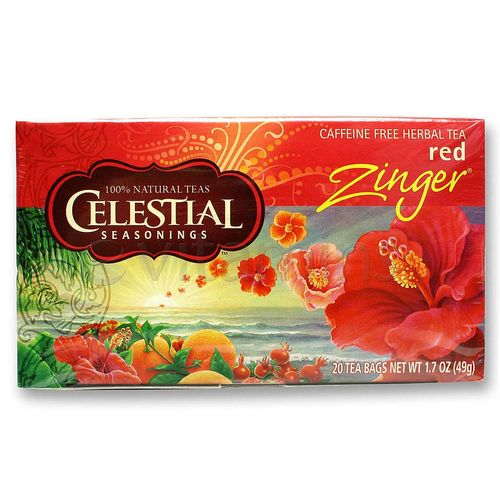 Evitamins Com Celestial Seasonings Red Zinger Red Zinger