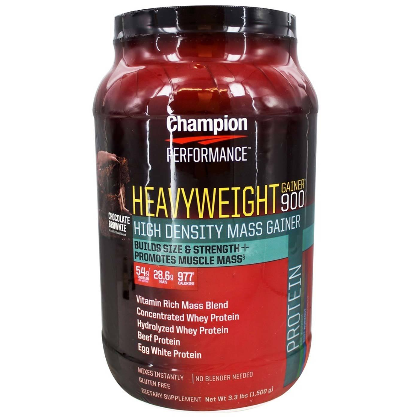 Champion Performance Heavyweight Gainer  Chocolate Brownie