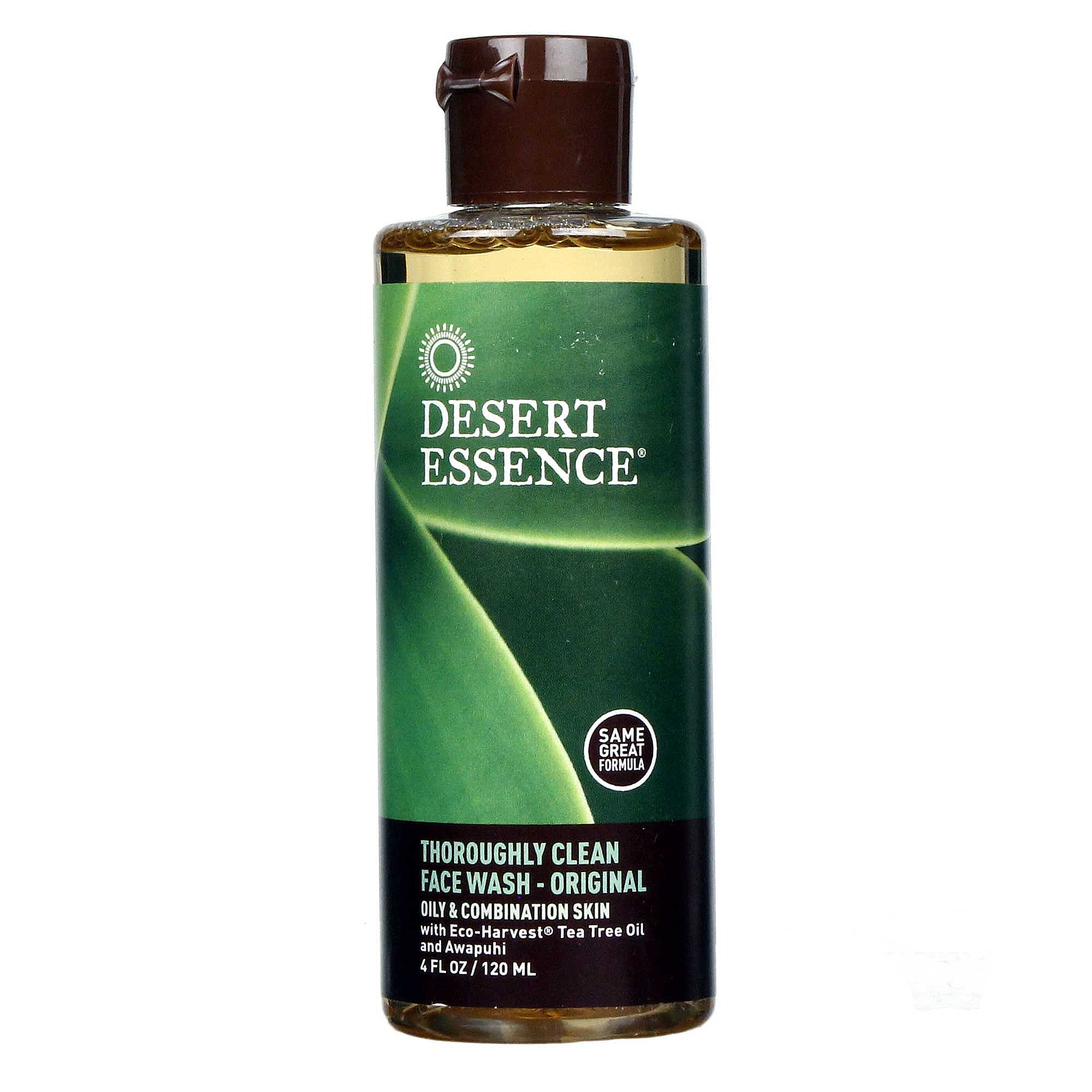 Desert Essence Thoroughly Clean Face Wash Oily