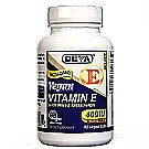 Deva Vegan Natural Source Vitamin E with Mixed Tocopherols