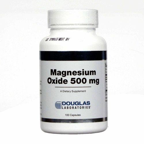 eVitamins.com: Douglas Labs Magnesium Oxide 500 mg - 100 Caps
