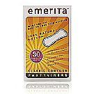 Emerita Natural Cotton Classic Contour Pantyliners
