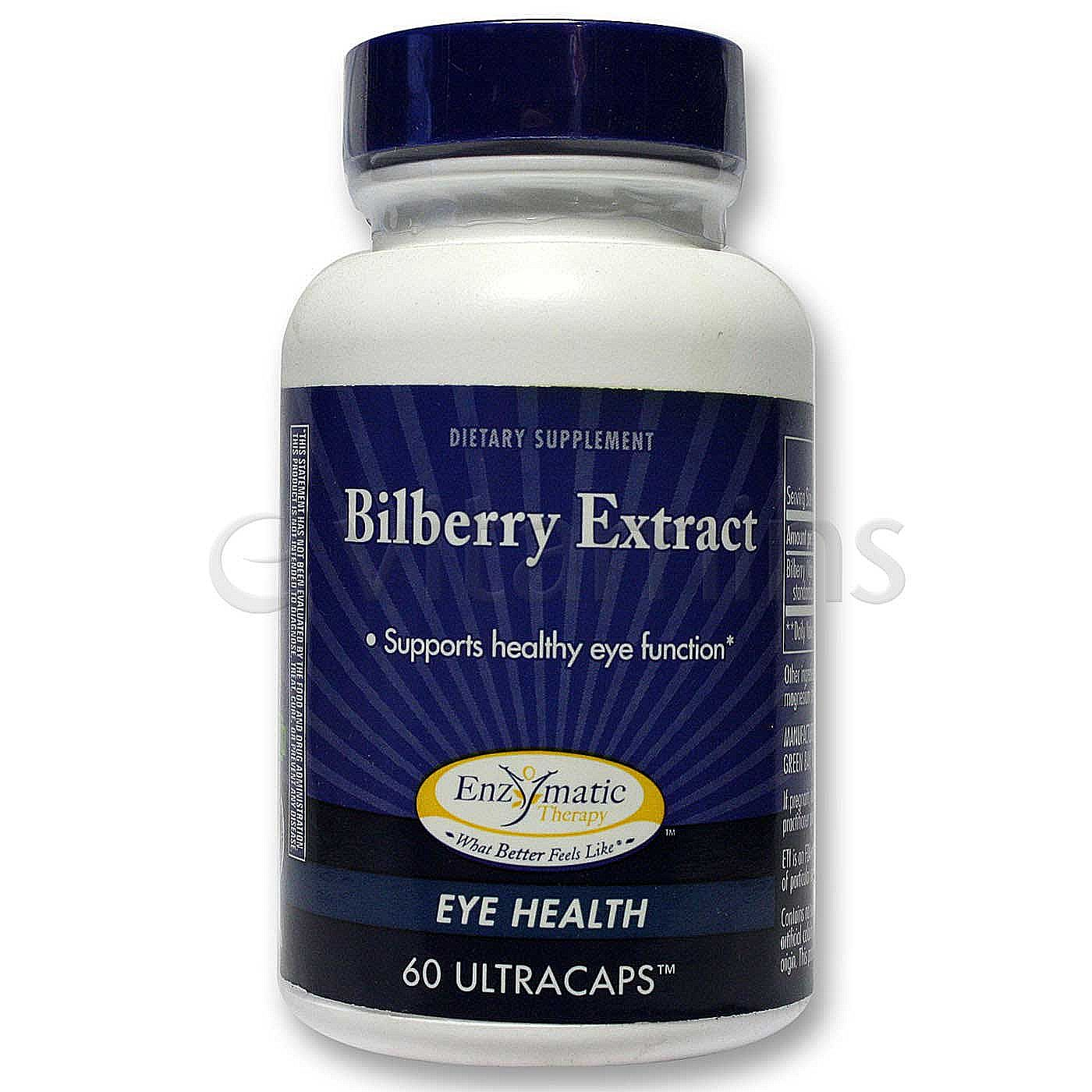 What is bilberry extract