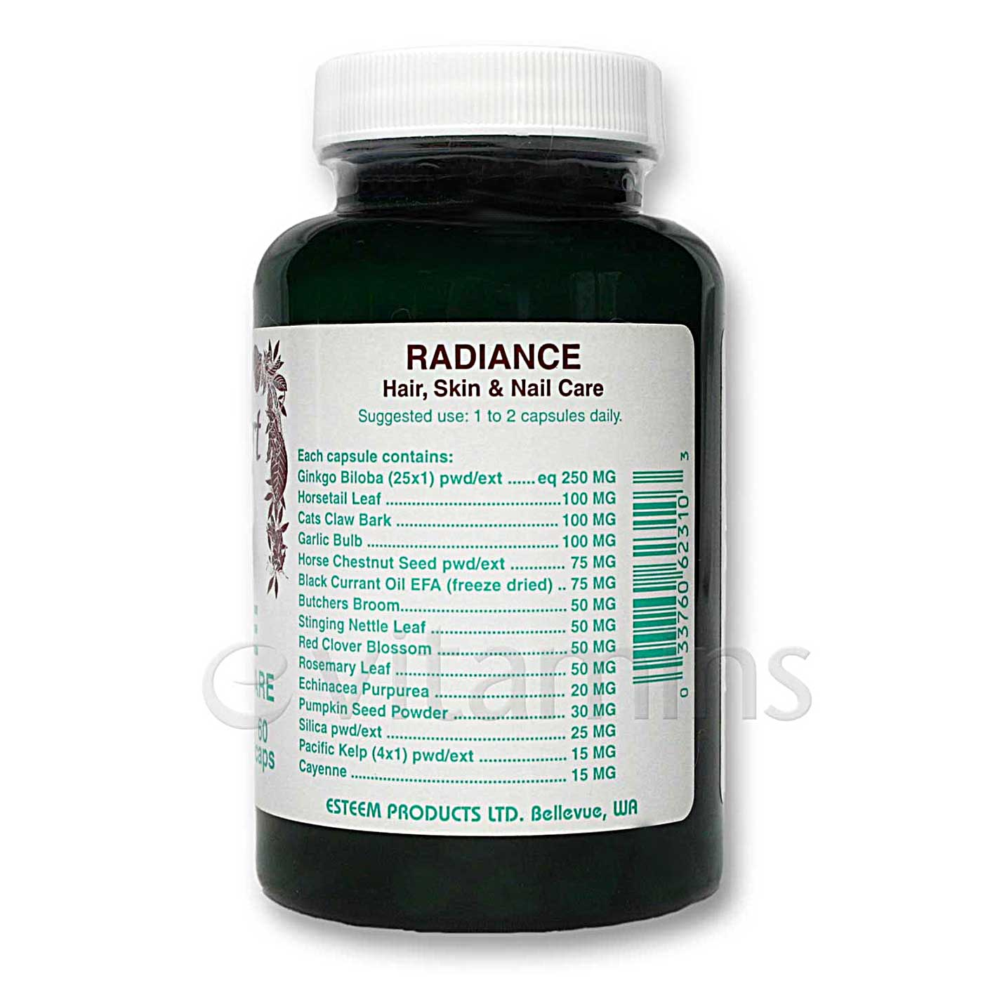 Radiance hair skin and nails