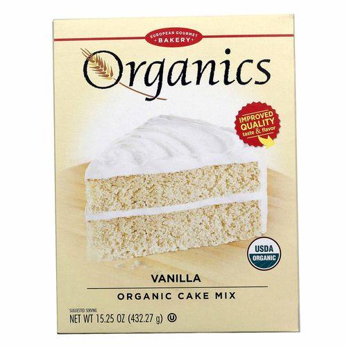 European Gourmet Bakery Organic Vanilla Cake Mix