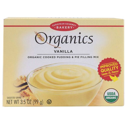 Organic Pudding Mix