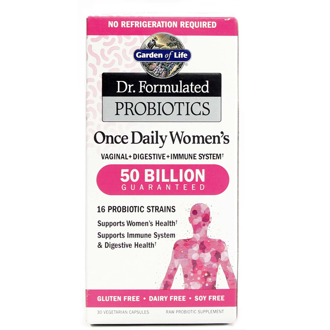 Garden Of Life Dr Formulated Probiotics Once Daily Women 39 S 30 Vcapsules