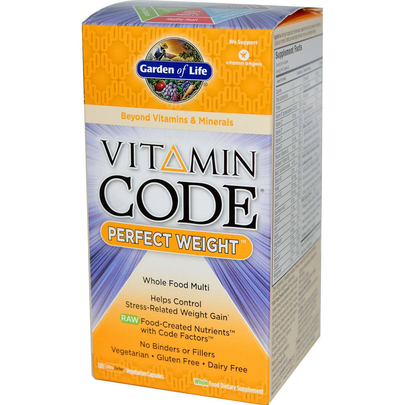 Garden Of Life Vitamin Code Perfect Weight 120 Vcaps