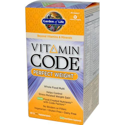 Garden of life vitamin code perfect weight 120 vcaps for Garden of life raw cleanse reviews