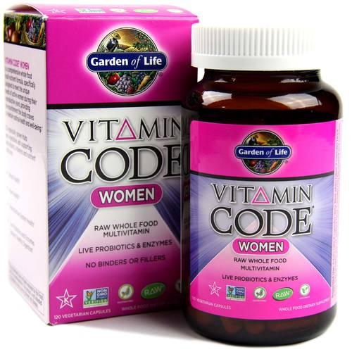 Garden Of Life Vitamin Code Women 120 Vcapsules