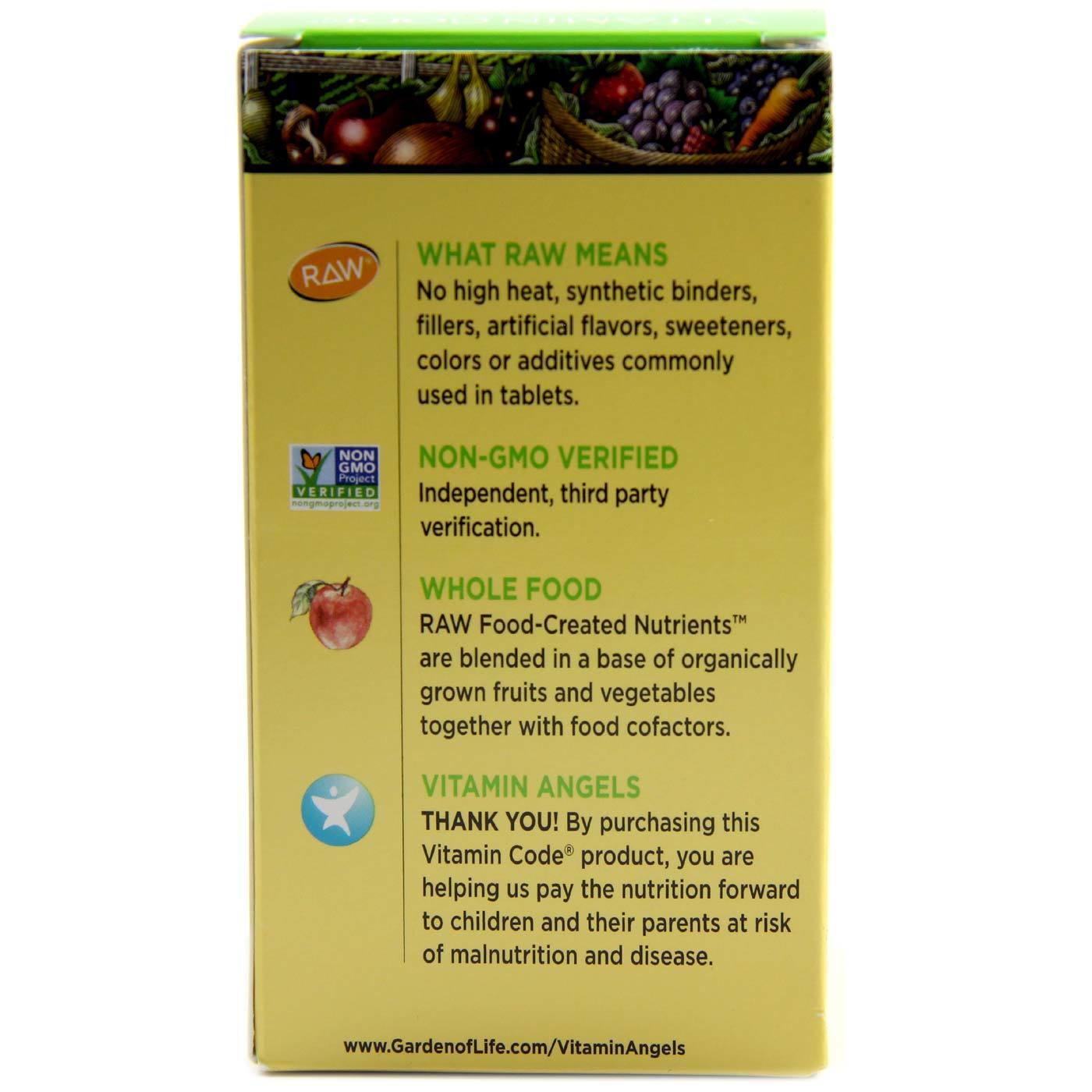 Garden Of Life Vitamin Code Raw B Complex 60 Vcapsules Evitamins Canada