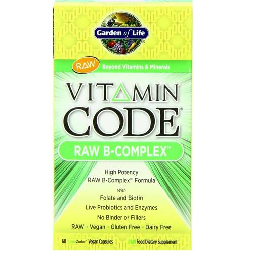 Garden of life vitamin code raw b complex 60 vcaps for Garden of life raw cleanse reviews
