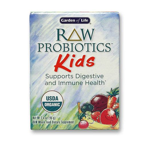 Garden of life raw probiotics kids 3 4 oz for Garden of life raw cleanse reviews
