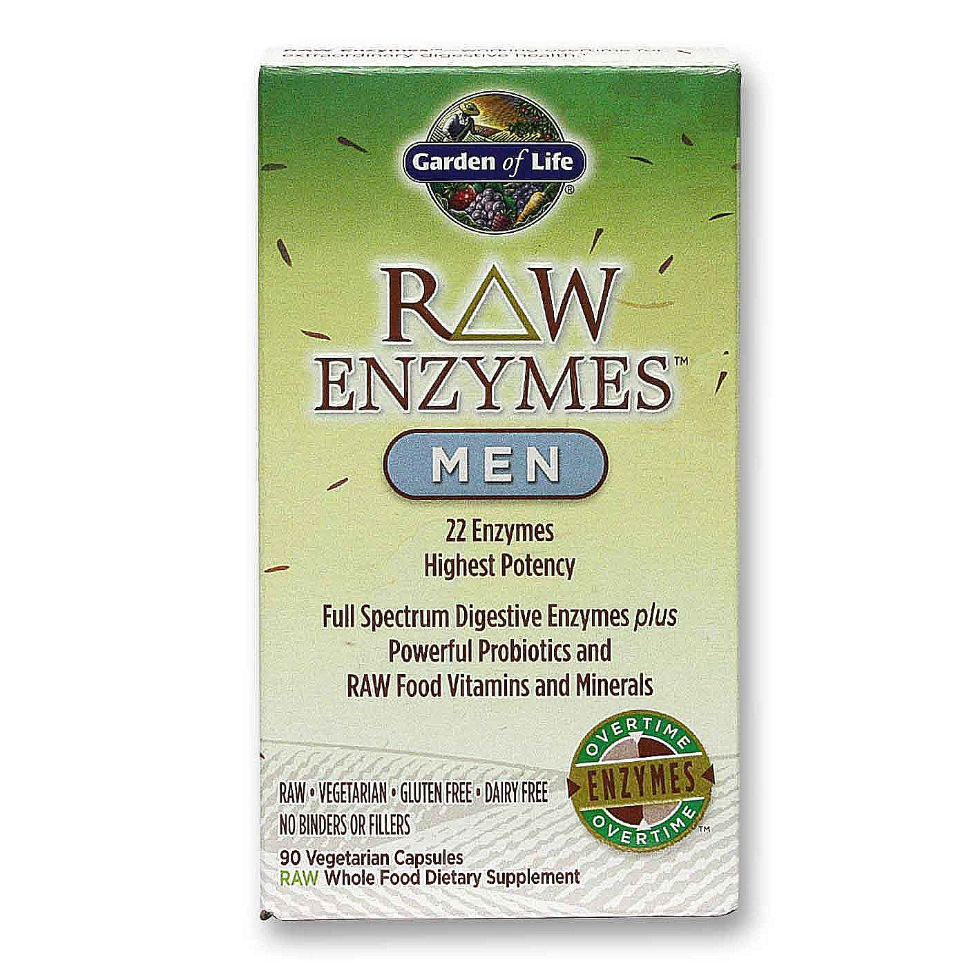 Buy Garden Of Life Raw Enzymes Men 90 Vcaps Singapore