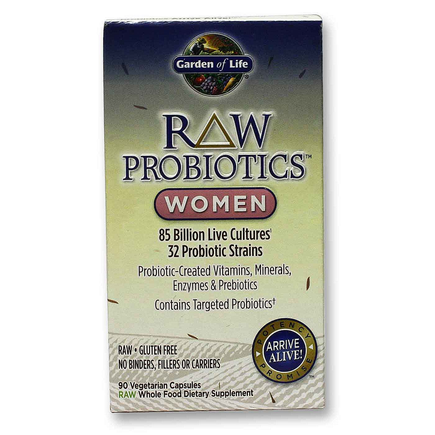 Garden Of Life Raw Probiotics Women 90 Vcaps Fast Reliable To Canada