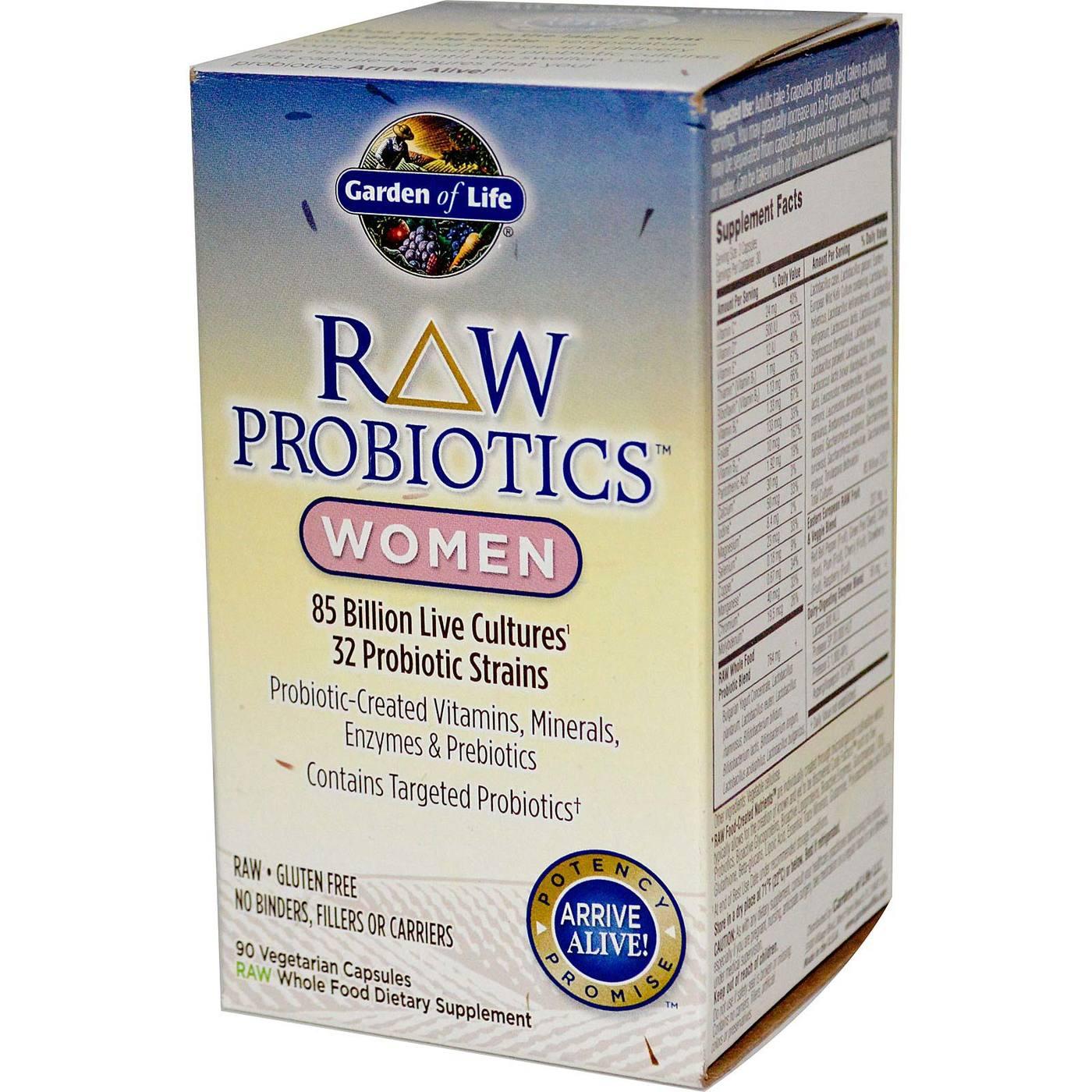 Garden Of Life Raw Probiotics Women 90 Vcapsules