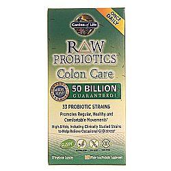 Buy Garden Of Life Raw Probiotics Colon Care 30 Vcaps Australia