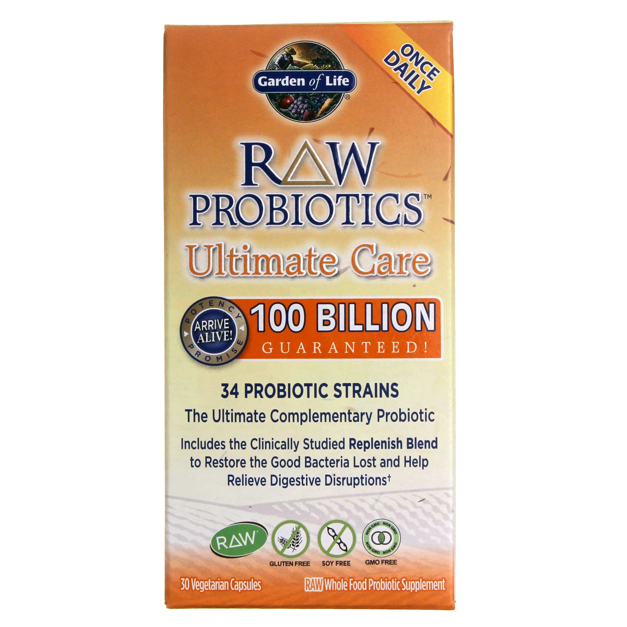 Comprar garden of life raw probi ticos ltimo care 30 vcaps espa a for Garden of life raw cleanse reviews