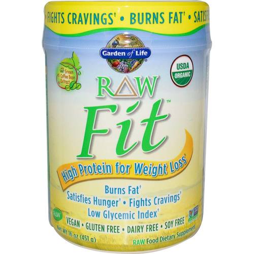 Garden of life raw fit plain 451 g for Garden of life raw cleanse reviews