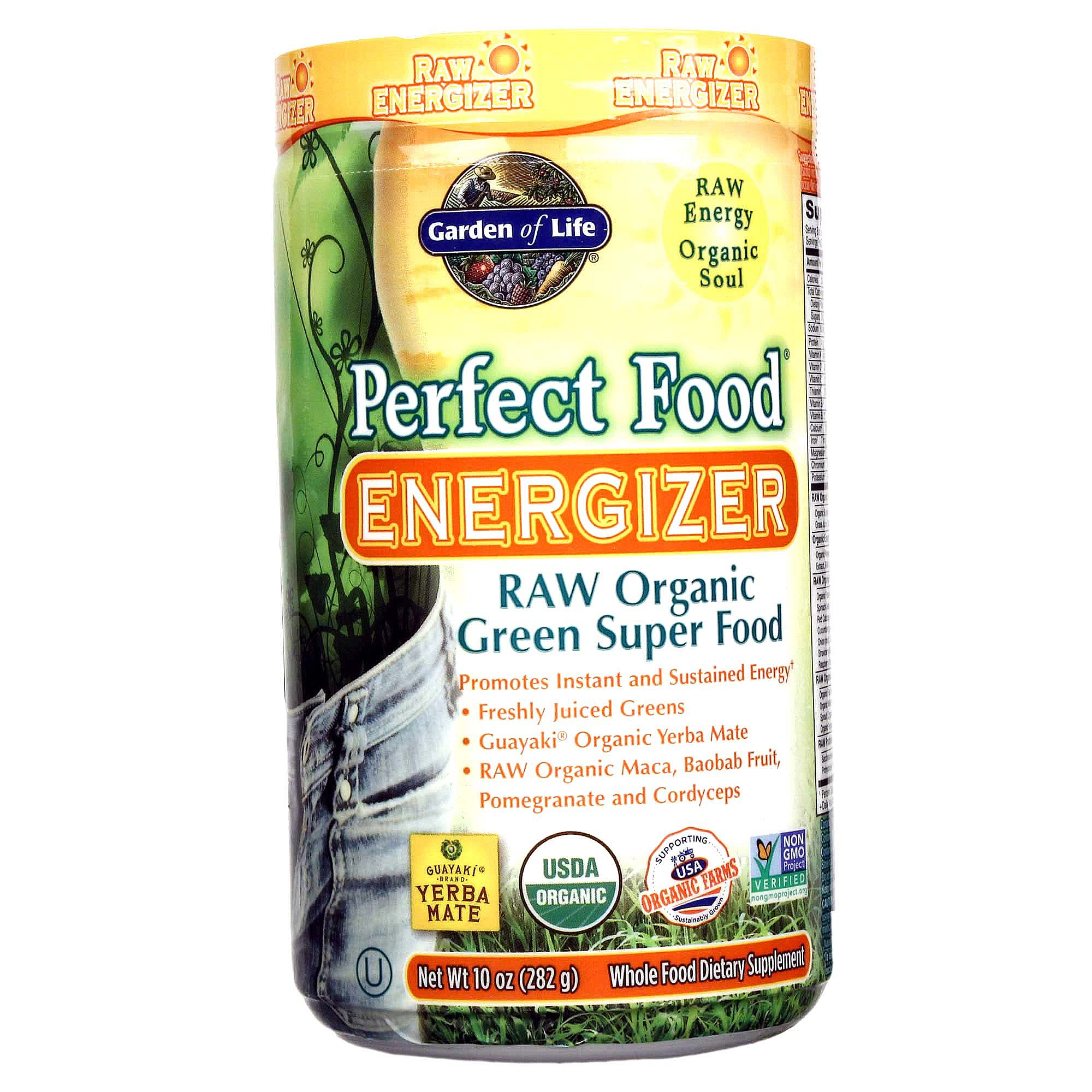 Buy Garden of Life Perfect Food Raw Organic Energizer - 10 oz Australia