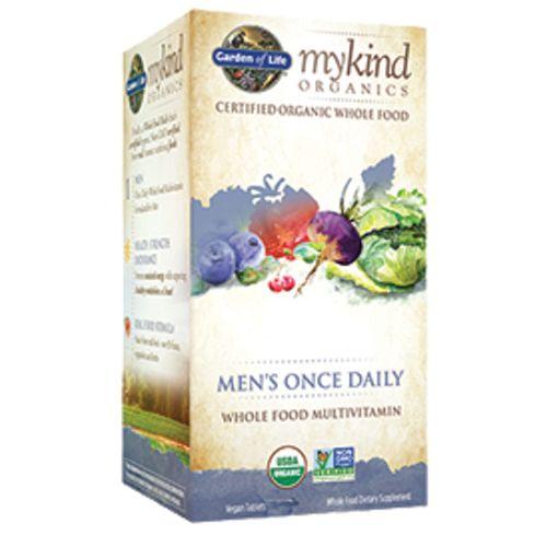 Garden of life mykind organics men 39 s once daily - Garden of life multivitamin for men ...
