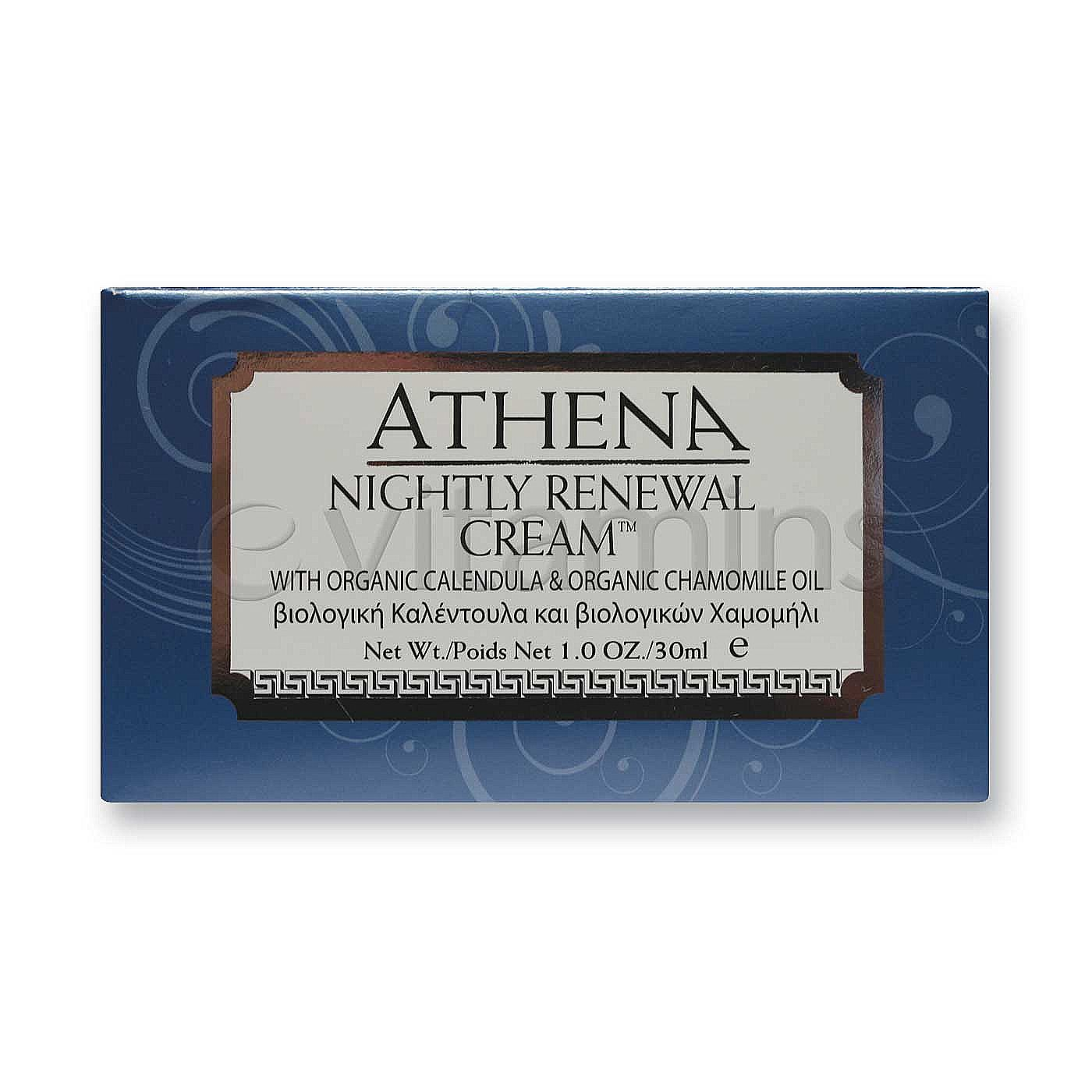 Greek Island Labs Athena Nightly Renewal Cream  Fl Oz