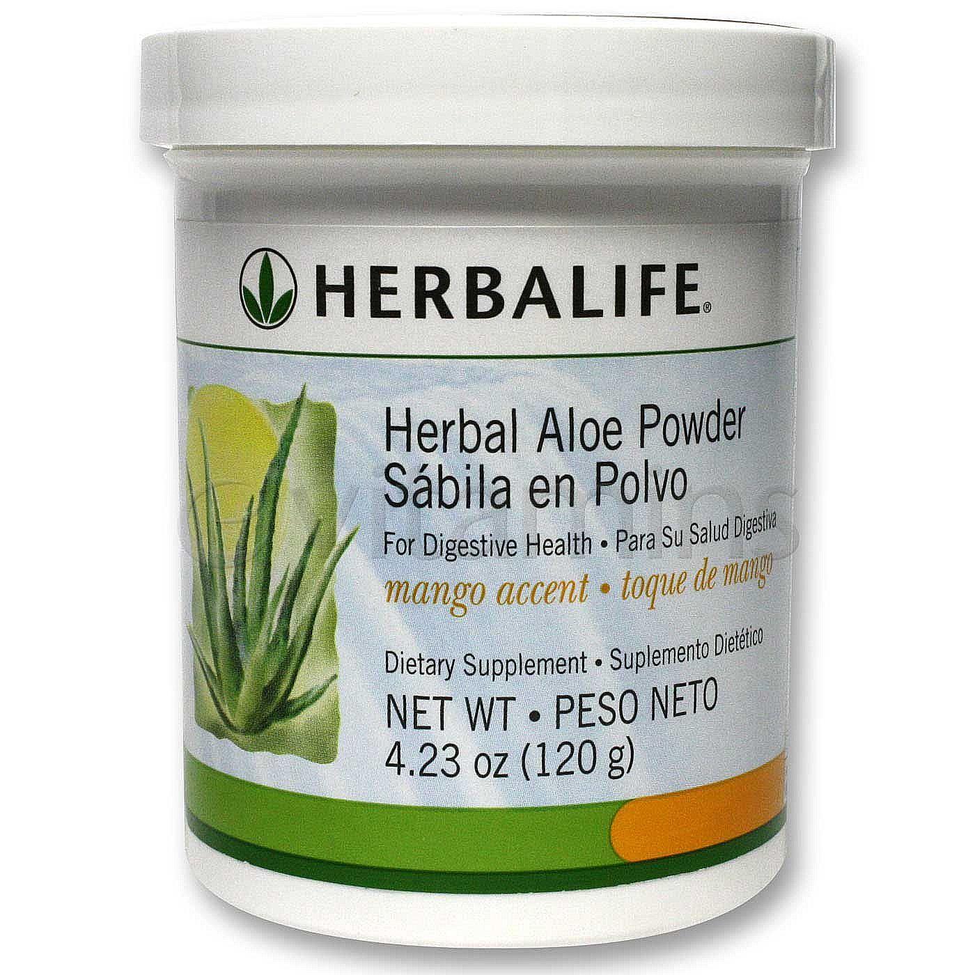 Herbalife Herbal Aloe Powder - Mango Accent - 4.23 oz ...