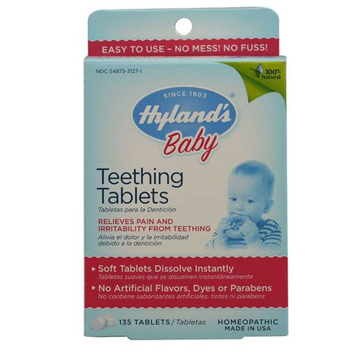 eVitamins.com: Hyland's Teething Tablets - 135 Tabs