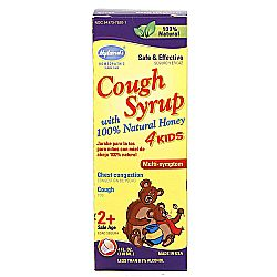 Hyland's Cough Syrup 4 Kids with 100% Natural Honey