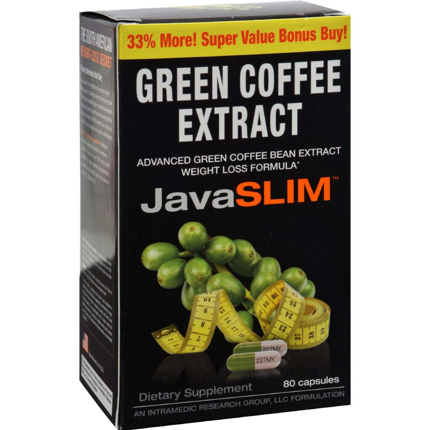 Ingredients in green mountain brown sugar crumble donut coffee