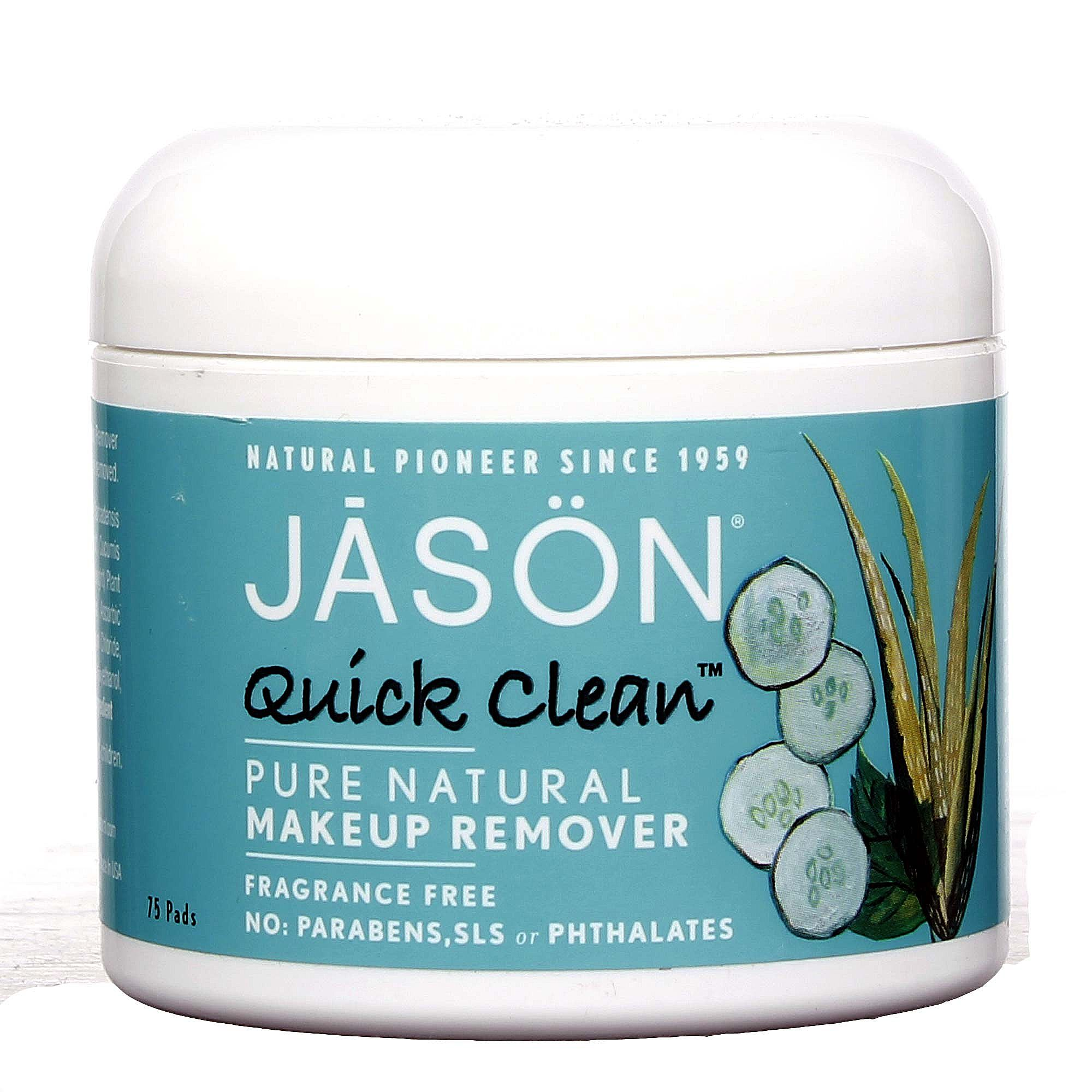 jason remover Remover Cosmetics natural pads Quick  75 makeup Natural Pure Clean   Natural  Makeup  Jason