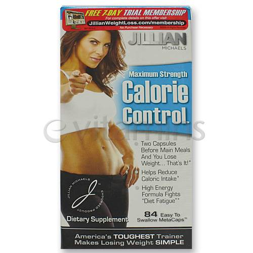 Jillian Michaels Calorie Control Maximum Strength - 84 ...