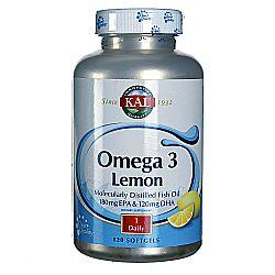 Omega 3 Lemon