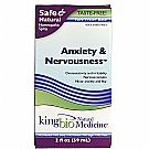 KingBio Natural Medicine Anxiety and Nervousness