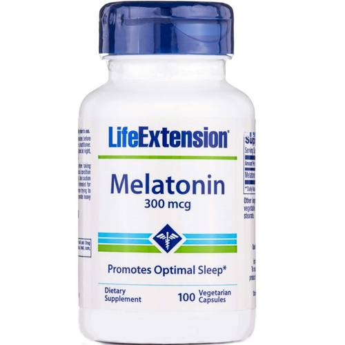 Melatonin 300 mcg equals how many mg